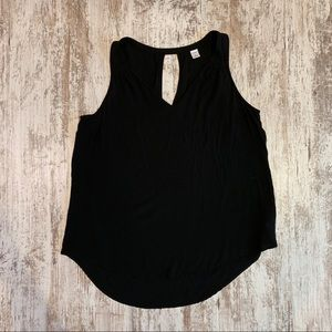 Old Navy black camisole style tank